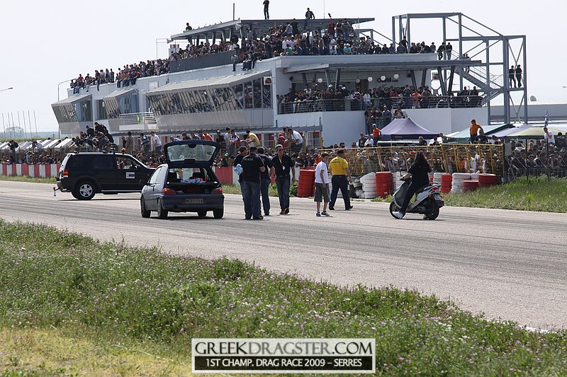 1st Championship Drag Race 2009 - Serres (c) greekdragster.com - The Greek Dragster Site