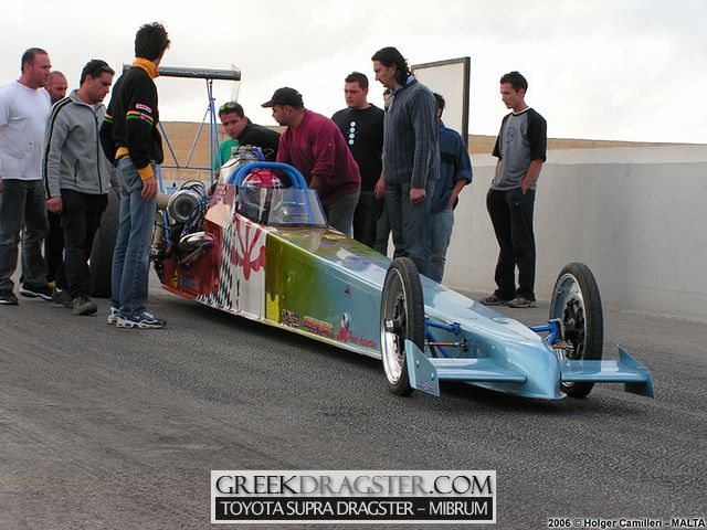 Toyota Supra Dragster - Mibrum Racing Team - Athens (c) www.greekdragster.com - The Greek Dragster Site