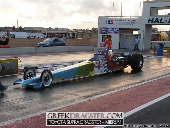 New Supra world record by Malta's Mibrum Racing Team (c) www.greekdragster.com - The Greek Dragster Site