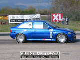 ΤΣΑΚΑΝΙΚΑΣ ΓΙΩΡΓΟΣ - FORD ESCORT © greekdragster.com - The Greek Dragster Site